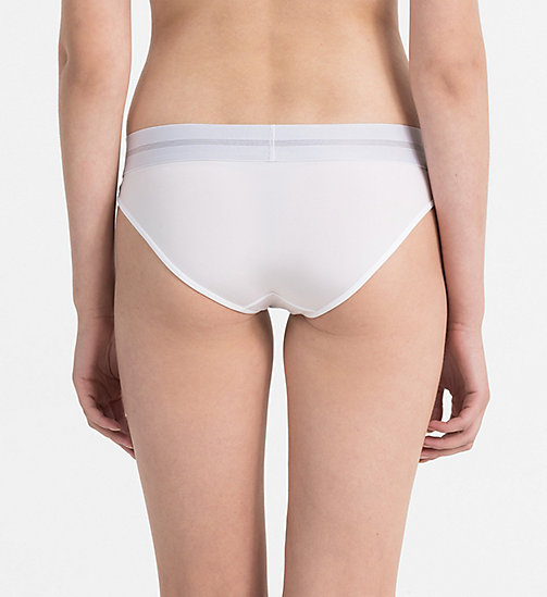 CALVINKLEIN Bikini - Focused Fit - WHITE - CALVIN KLEIN UNDERWEAR - detail image 1