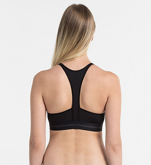 CALVINKLEIN Push-Up Bralette - Focused Fit - BLACK - CALVIN KLEIN UNDERWEAR - detail image 1