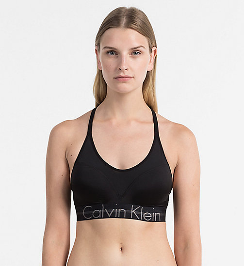 CALVINKLEIN Push-Up Bralette - Focused Fit - BLACK - CALVIN KLEIN NEW ARRIVALS - main image