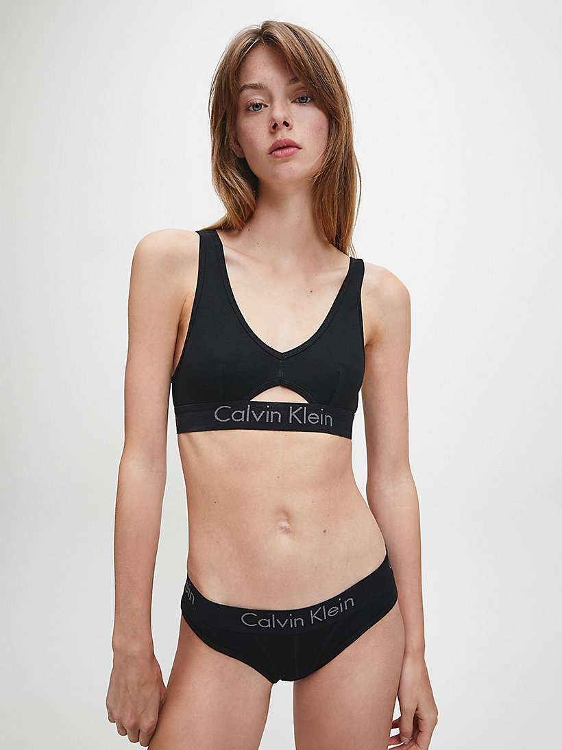 CALVINKLEIN Bralette - Body - GREY HEATHER - CALVIN KLEIN UNDERWEAR - detail image 1