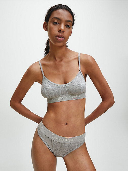 CALVINKLEIN String - Body - GREY HEATHER - CALVIN KLEIN BODY FÜR SIE - main image 1