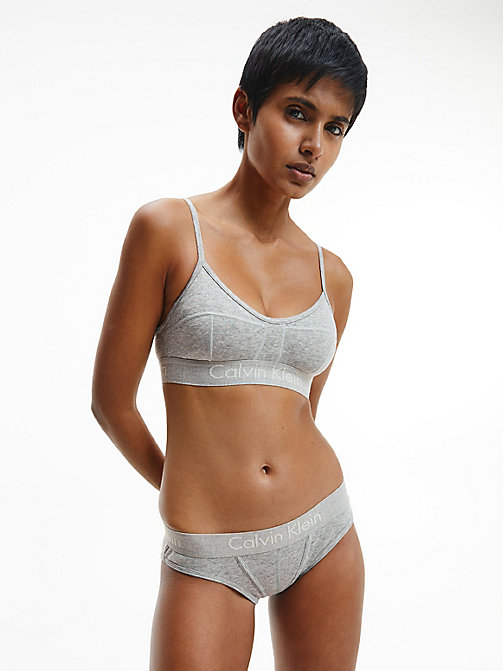 CALVINKLEIN Slip - Youthful Lingerie - GREY HEATHER - CALVIN KLEIN NIEUWE ICONEN - detail image 1
