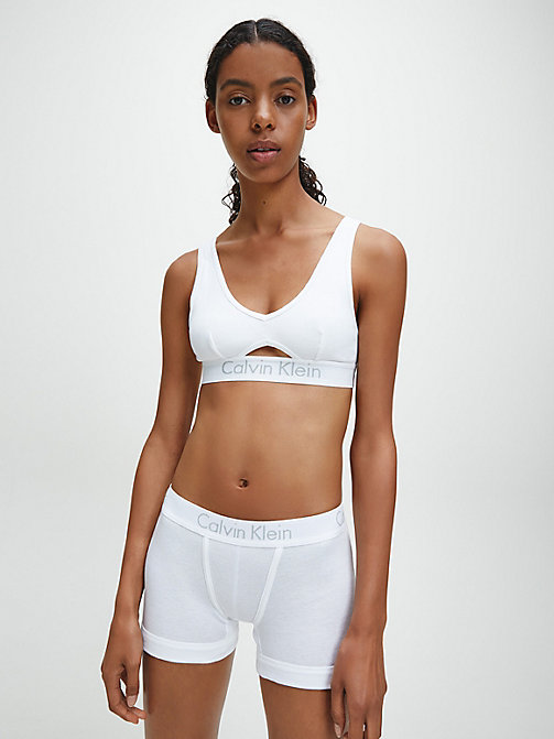 CALVINKLEIN Трусики-шорты - Body - WHITE - CALVIN KLEIN #MYCALVINS WOMEN - подробное изображение 1
