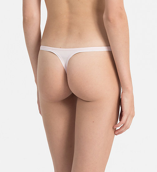 CALVINKLEIN Thong - Youthful Lingerie - NYMPHS THIGH - CALVIN KLEIN THONGS - detail image 1