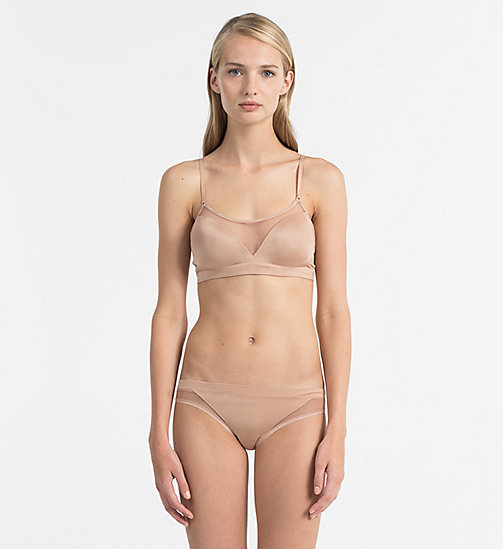 CALVIN KLEIN Push-Up Bralette - Youthful Lingerie - SUMMER SABLE - CALVIN KLEIN UNDERWEAR - detail image 1