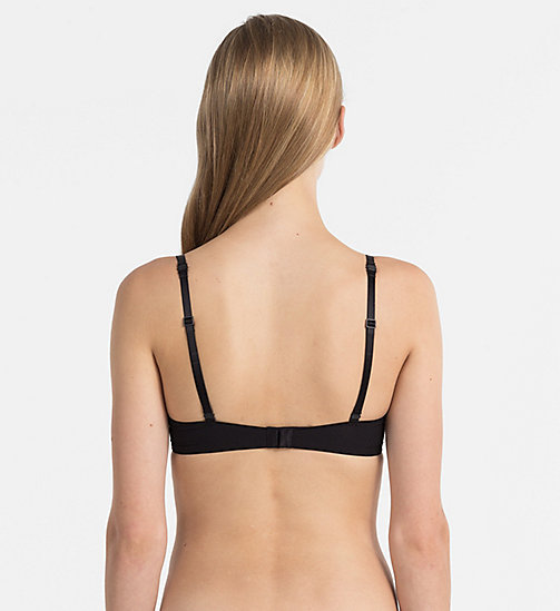 CALVINKLEIN Add-a-Size Push-Up Bra - CK Black - BLACK - CALVIN KLEIN NEW ARRIVALS - detail image 1