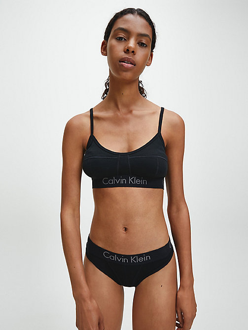 CALVINKLEIN Bralette - Body - BLACK - CALVIN KLEIN BODY FOR HER - detail image 1