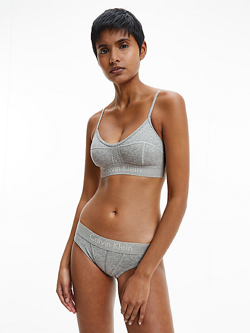 CALVIN KLEIN Bralette - Body - GREY HEATHER - CALVIN KLEIN NEW ICONS - detail image 1