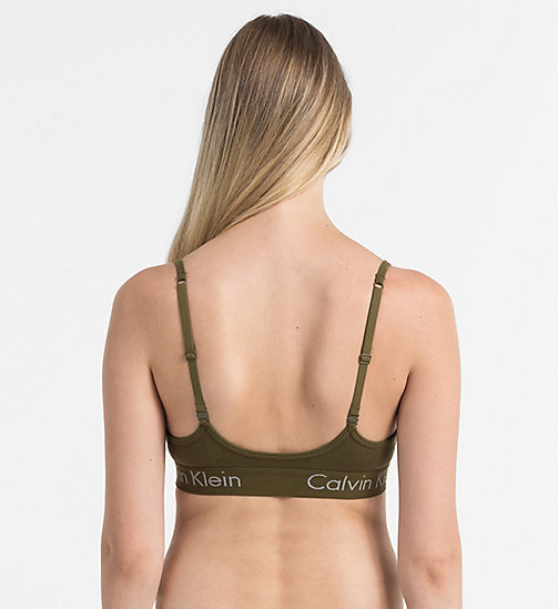 CALVINKLEIN Bralette - Body - RIFLE GREEN - CALVIN KLEIN NEW IN - detail image 1
