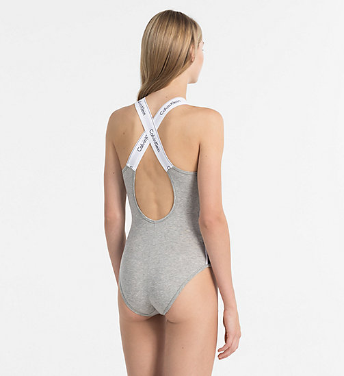 CALVINKLEIN Bodysuit - Modern Cotton - GREY HEATHER - CALVIN KLEIN CADEAUS - detail image 1