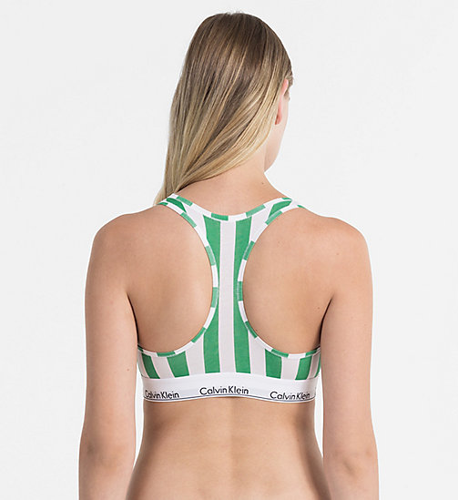 CALVINKLEIN Bralette - Modern Cotton - DB STRIPE VERTICAL_IMPULSIVE - CALVIN KLEIN SHOP BY SET - detail image 1