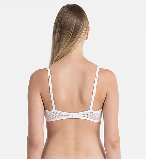 CALVINKLEIN Halbschalen-BH - Sheer Marquisette - WHITE - CALVIN KLEIN SHOP BY SET - main image 1