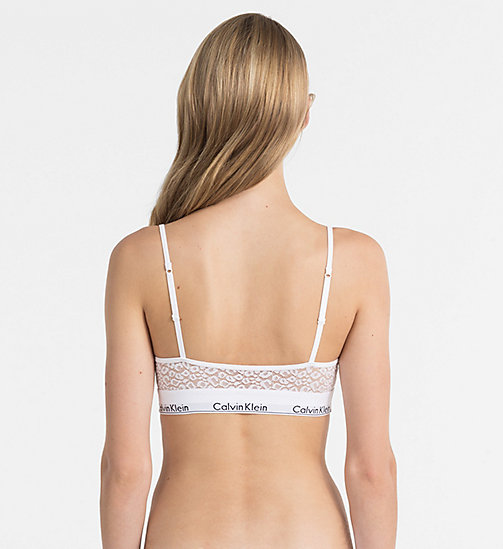 CALVINKLEIN Bralette - Modern Cotton - WHITE - CALVIN KLEIN SHOP BY SET - detail image 1