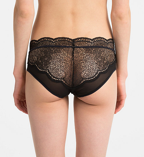 CALVINKLEIN Hipsters - CK Black - BLACK - CALVIN KLEIN NEW FOR WOMEN - detail image 1