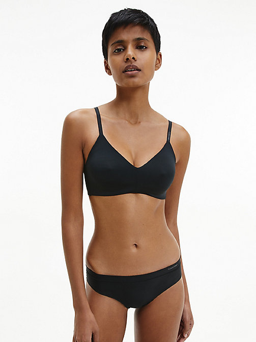 CALVINKLEIN Triangle Bra - CK Form - BLACK - CALVIN KLEIN NEW FOR WOMEN - detail image 1