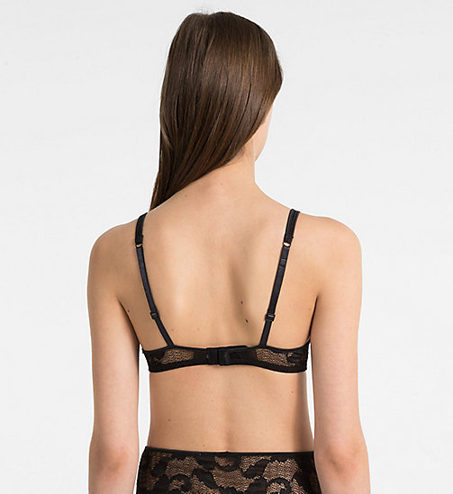 CALVINKLEIN Balconette-BHs - CK Black Lily Lace - BLACK - CALVIN KLEIN NEW IN - main image 1
