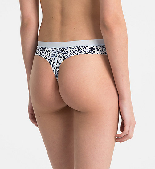 CALVINKLEIN Thong - CK Form - EFFORTLESS ANIMAL - CALVIN KLEIN SHOP BY SET - detail image 1