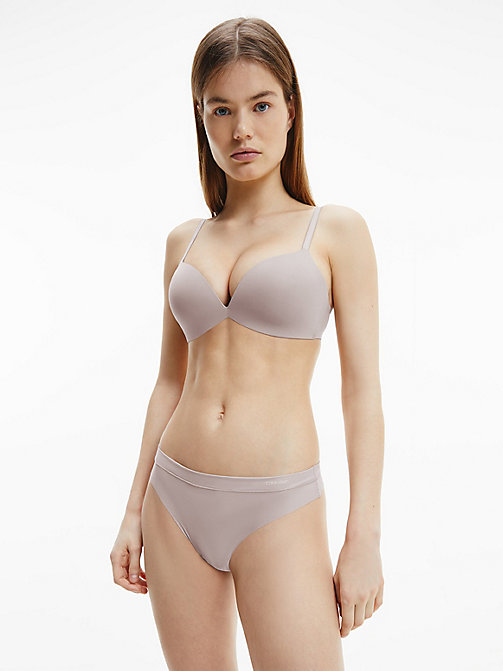 CALVINKLEIN String - CK Form - SILVER ROSE - CALVIN KLEIN BASIC-SETS - main image 1