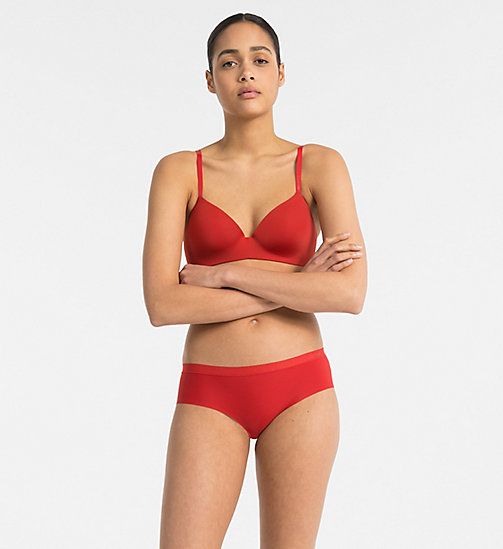 CALVIN KLEIN Hipsters - CK Form - MANIC RED - CALVIN KLEIN HIPSTER PANTIES - detail image 1