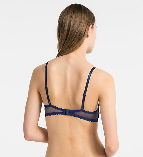 CALVINKLEIN Triangle Bra - Siren - CAPSIZE - CALVIN KLEIN NEW FOR WOMEN - detail image 1