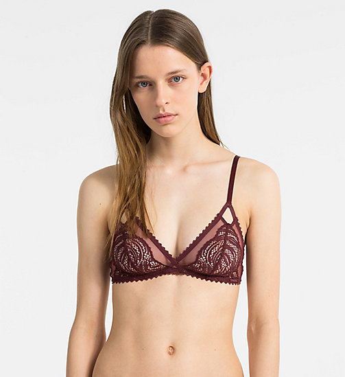 CALVIN KLEIN Triangle Bra - Siren - PHEOBE - CALVIN KLEIN NEW FOR WOMEN - main image