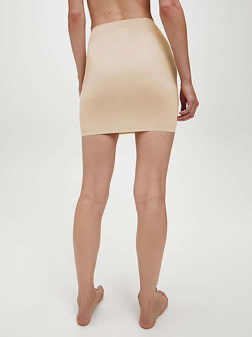 CALVIN KLEIN Half Slip Dress - Invisibles - BARE - CALVIN KLEIN UNDERWEAR - detail image 1