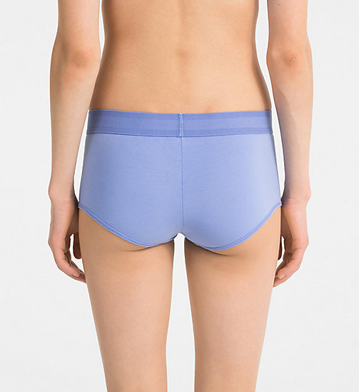 CALVINKLEIN Boy Shorts - Monogram - PERIWINKLE BLUE - CALVIN KLEIN MONOGRAM FOR HER - detail image 1