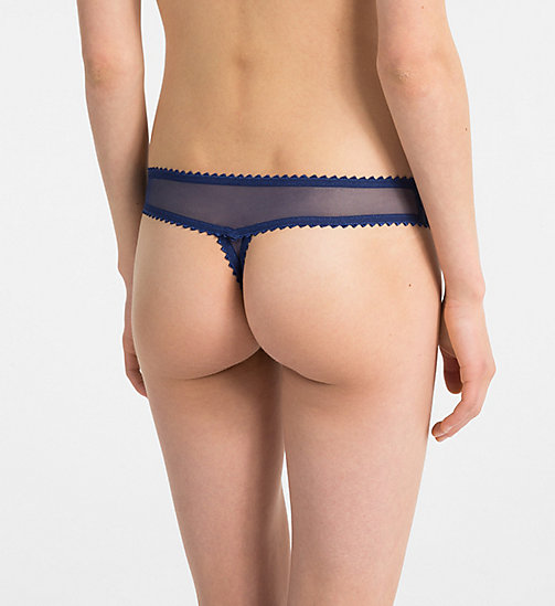 CALVINKLEIN Thong - Siren - CAPSIZE - CALVIN KLEIN NEW FOR WOMEN - detail image 1