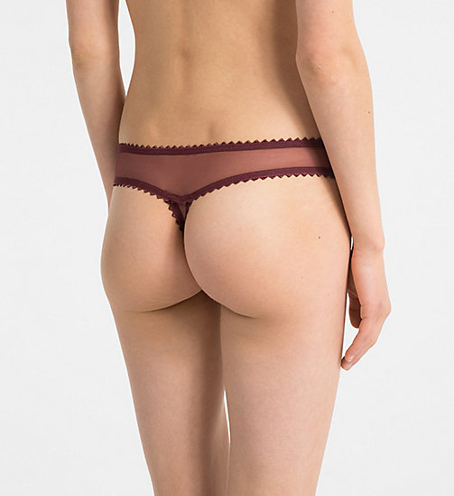 CALVINKLEIN Thong - Siren - PHEOBE - CALVIN KLEIN NEW FOR WOMEN - detail image 1