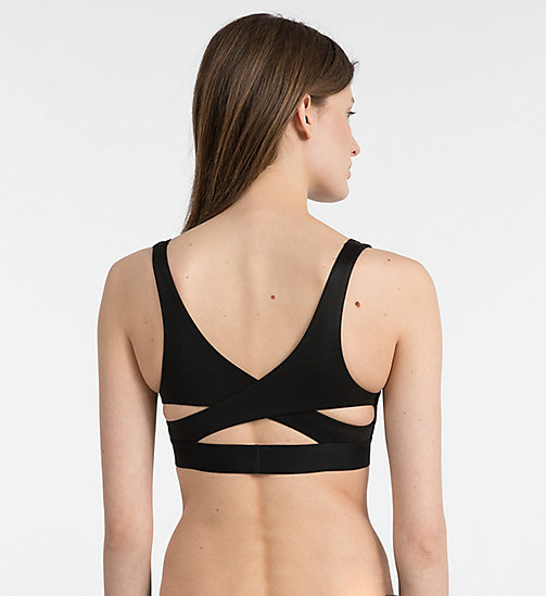 CALVINKLEIN Bralette - Bold Accents - BLACK - CALVIN KLEIN SPORTY SETS - detail image 1