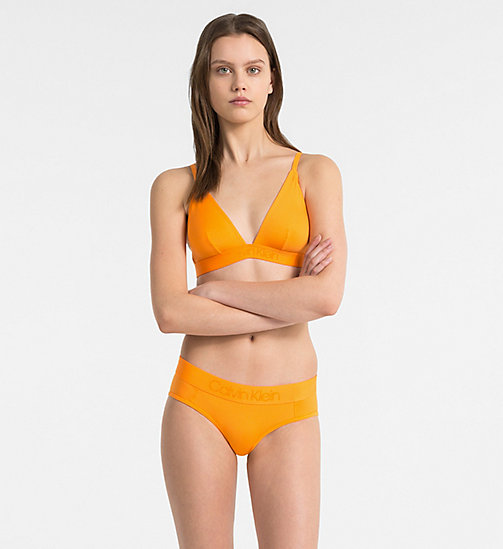 CALVIN KLEIN Triangel-BH - Tonal Logo - BELL ORANGE - CALVIN KLEIN NEW IN - main image 1