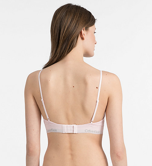 CALVINKLEIN Triangle Bra - Modern Cotton - NYMPH'S HEATHER - CALVIN KLEIN SHOP BY SET - detail image 1