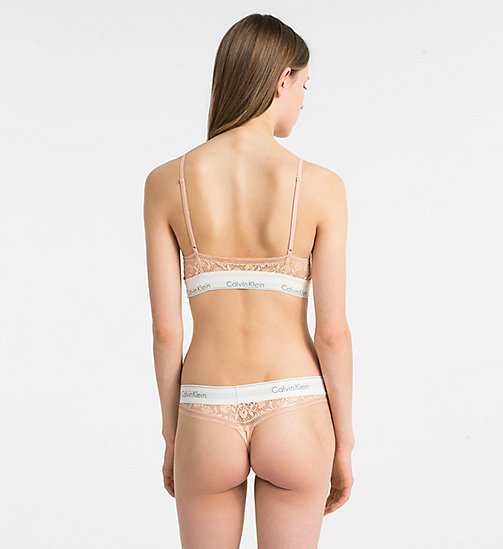 CALVINKLEIN Underwear Gift Set - Modern Cotton - MELON BLOSSOM - CALVIN KLEIN NEW FOR WOMEN - detail image 1