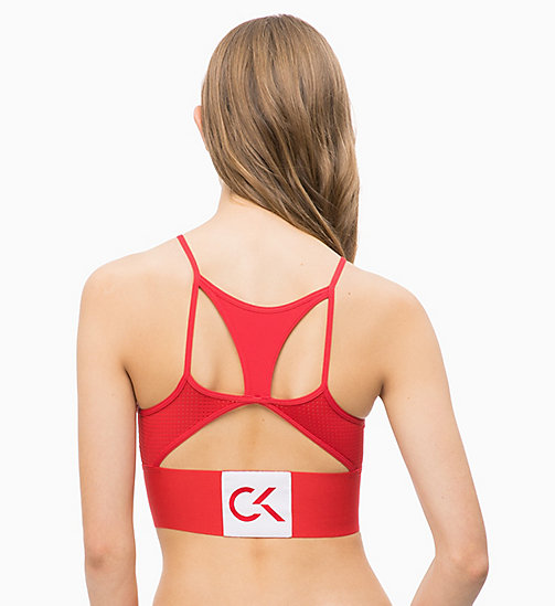 CALVINKLEIN Bralette - Performance - MANIC RED - CALVIN KLEIN NEW FOR WOMEN - detail image 1