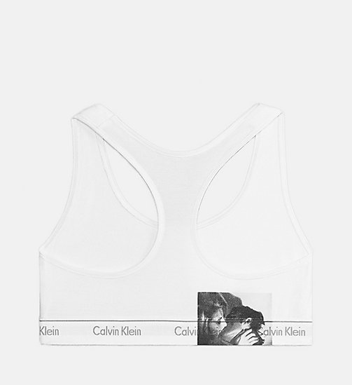 CALVINKLEIN Andy Warhol Kiss Unlined Bralette - KISS 1 85MM - CALVIN KLEIN ANDY WARHOL - main image