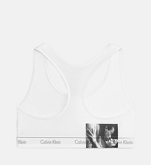 CALVINKLEIN Andy Warhol Kiss Unlined Bralette - KISS 2 85MM - CALVIN KLEIN ANDY WARHOL - main image