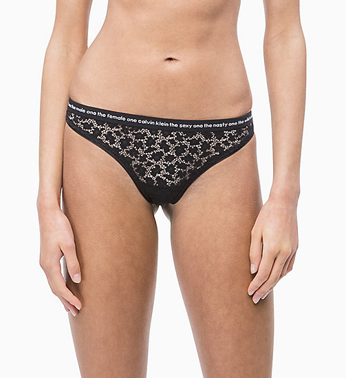 CALVIN KLEIN String - Conversational - BLACK - CALVIN KLEIN NEW IN - main image