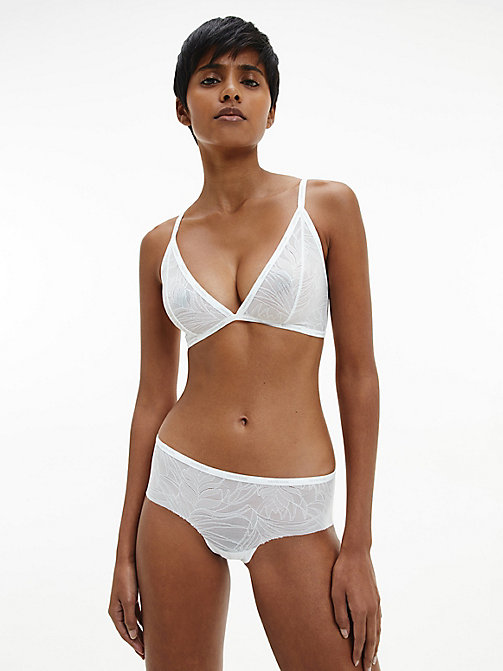 CALVIN KLEIN Triangel-BH - Sheer Marquisette - WHITE - CALVIN KLEIN NEW IN - main image 1
