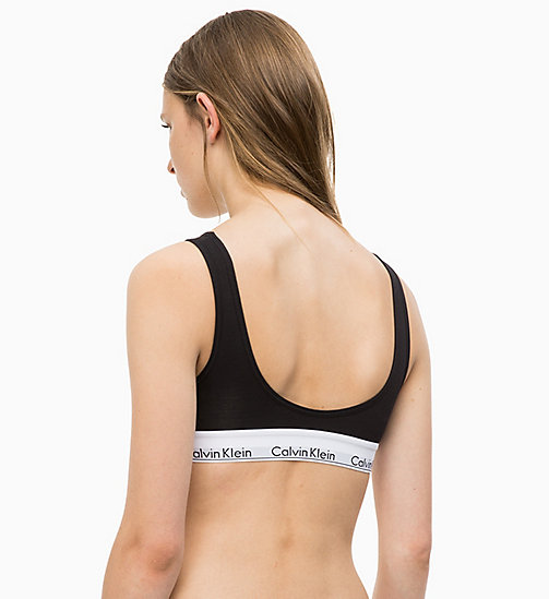 CALVINKLEIN Bustier - Modern Cotton - BLACK - CALVIN KLEIN SHOP BY SET - main image 1