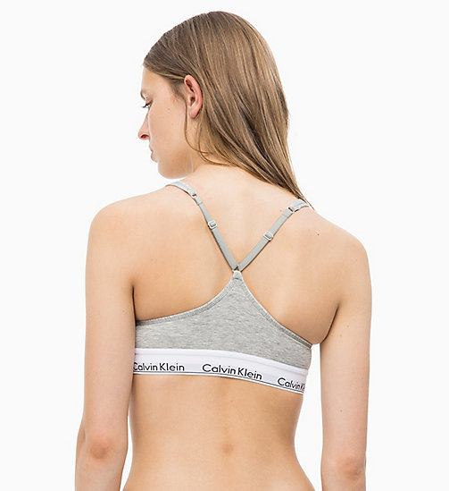 CALVINKLEIN Verstelbare bralette - Modern Cotton - GREY HEATHER - CALVIN KLEIN SHOP PER SET - detail image 1