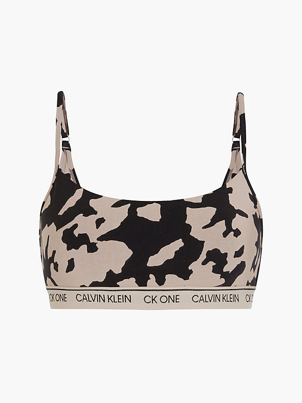 CALVIN KLEIN  - CUT OUT PRINT_CHARMING KHAKI -   - main image