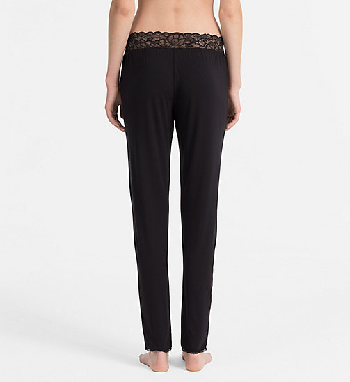 CALVINKLEIN Pants - Seductive Comfort - BLACK -  NIGHTWEAR & LOUNGEWEAR - detail image 1