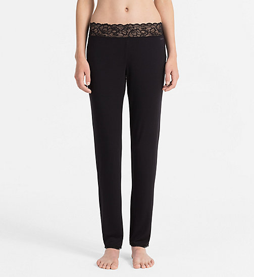 CALVINKLEIN Lounge Pants - Seductive Comfort - BLACK - CALVIN KLEIN LOUNGE PANTS - main image
