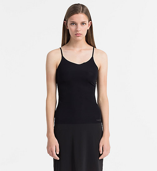 CALVINKLEIN Top - Naked Touch - BLACK - CALVIN KLEIN NIGHTWEAR - main image