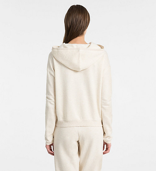 CALVINKLEIN Hoodie - Youthful Lingerie - SPARROW HEATHER - CALVIN KLEIN NEW FOR WOMEN - detail image 1