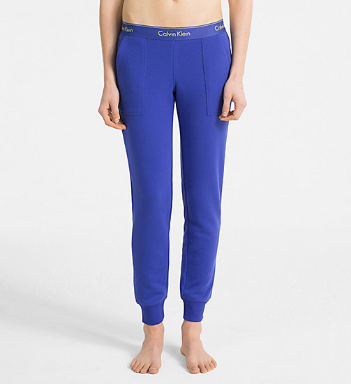 CALVINKLEIN Jogging Pants - Modern Cotton - PURE CERULEAN - CALVIN KLEIN LOUNGE PANTS - main image