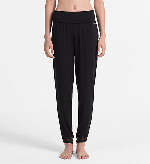 CALVINKLEIN PJ Pants - Sculpted - BLACK - CALVIN KLEIN NIGHTWEAR & LOUNGEWEAR - main image
