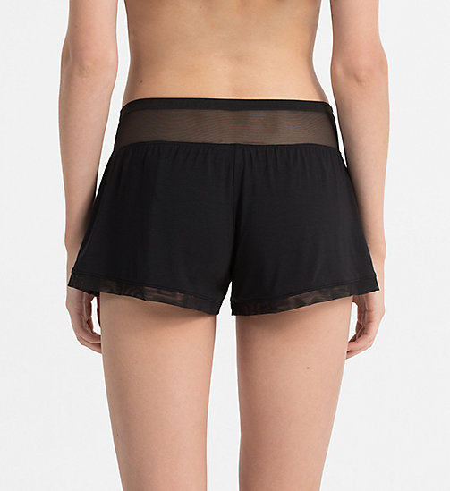 CALVINKLEIN PJ Shorts - Sculpted - BLACK - CALVIN KLEIN PYJAMA BOTTOMS - detail image 1