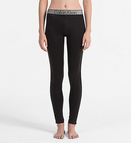 CALVIN KLEIN Leggings - Customized Stretch - BLACK - CALVIN KLEIN LOUNGE PANTS - main image