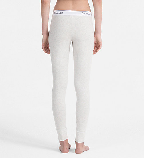 CALVINKLEIN Leggings - Modern Cotton - SNOW HEATHER_NEON NEPS - CALVIN KLEIN UNDERWEAR - detail image 1